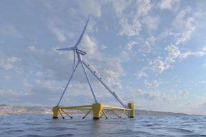 La primera plataforma eólica flotante a favor de viento del mundo se instalará en Gran Canaria en los próximos meses