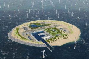Alemania y Dinamarca se conectarán a través de una isla energética de eólica marina con 2000 MW de capacidad
