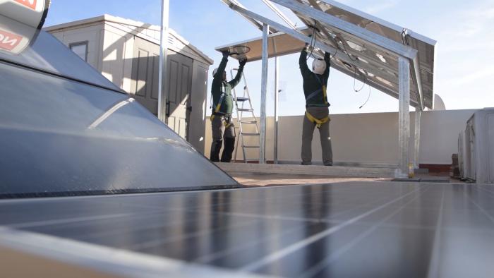 Andalucía dispondrá de 97 millones en incentivos para autoconsumo renovable y almacenamiento